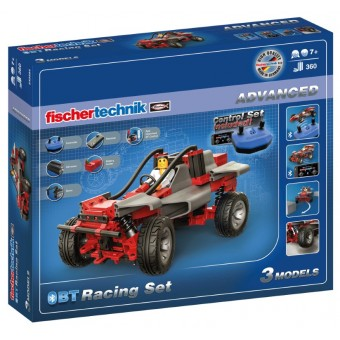 Fischertechnik Advanced BlueTooth Racer sæt 3-i-1 (360 dele)
