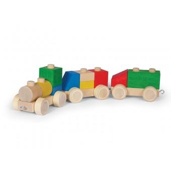 VARIS Træ Bygge og Stableklodser Køretøjer 13