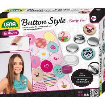 Lena Badge Design 'Lovely Pin' til børn