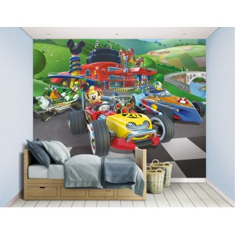 Mickey Mouse Roadster Racer tapet 243 x 305 cm
