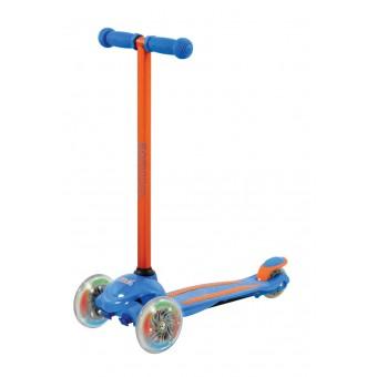 U Move Mini LED Løbehjul, Blå / Orange