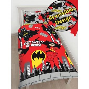 Lego Batman & Robin Sengetøj 2i1 design