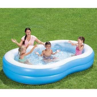 Badebassin Family Pool 'Lagoon' 262x157x46 cm