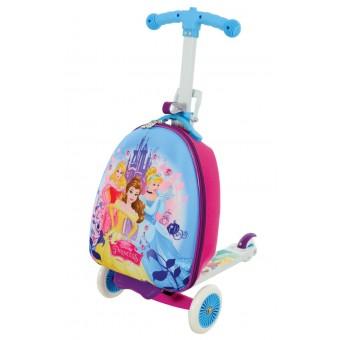 Disney Prinsesse 3-i-1 Løbehjul og Kuffert