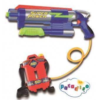 Vandgevær med vandtank til børn