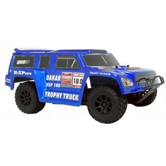 HSP 1:18 PRO Brushless 4WD Trophy Truck 2.4G, Blå