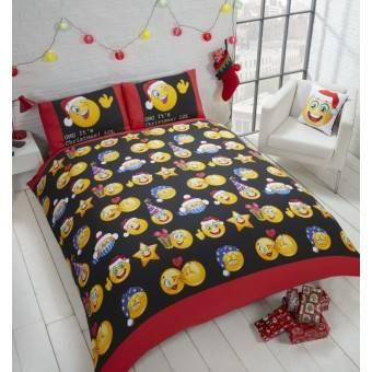 Jule Sengetøj 'OMG Det er jul! LOL' til dobbeltdyne, 200x200cm