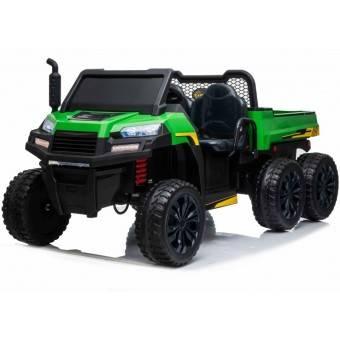 Farmer4X 24v ELBil m/4x24V motor + Gummihjul + fjernb
