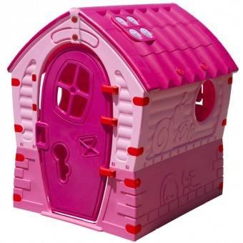 Dream House Plast Legehus, Pink