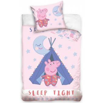 Gurli Gris 'Sov godt' Sengetøj - 100 procent bomuld