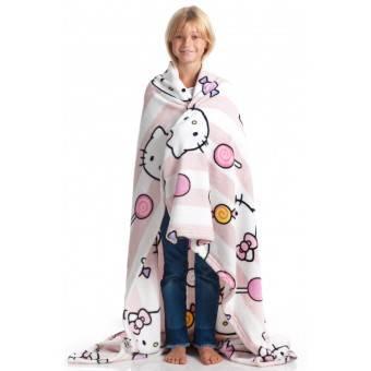 KANGURU Hello Kitty Plaid og tæppe til børn