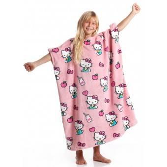 KANGURU Momonga Hello Kitty Plaid og tæppe til børn, Pink