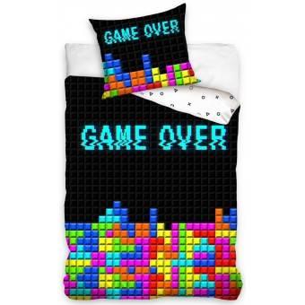'Game Over' Gamer Sengetøj - 100 procent bomuld