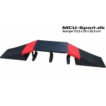MCU-Sport Skate Rampe sæt 172,5 x 25 x 25,5 cm