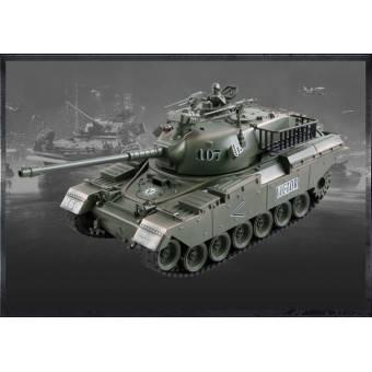 ZEGAN U.S. M60 Fjernstyret Airsoft Tank 1:18, 40Mhz