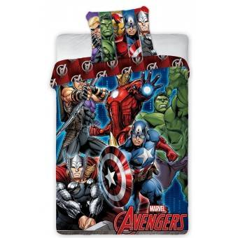 Marvel Avengers Sengetøj - 100 procent bomuld