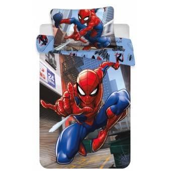 Spiderman Junior Sengetøj 100x140 cm - 100 procent bomuld