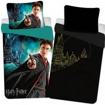Harry Potter 'Glow in dark' Sengetøj, 100 procent bomuld