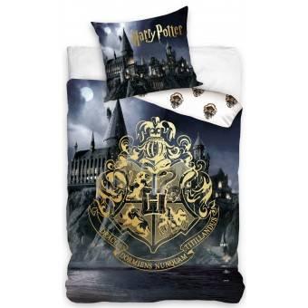 Harry Potter Hogwarts Sengetøj, 100 procent bomuld