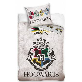 Harry Potter Quidditch Sengetøj, 100 procent bomuld