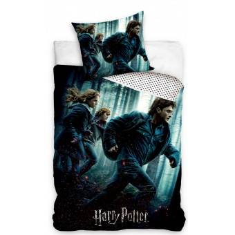 Harry Potter Sengetøj 140x200, 100 procent bomuld