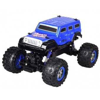 Steep Fighter Fjernstyret 4WD Monster Blå