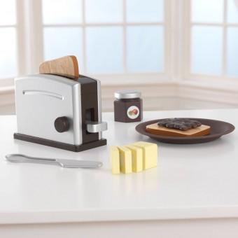 KidKraft Espresso Træ Toaster