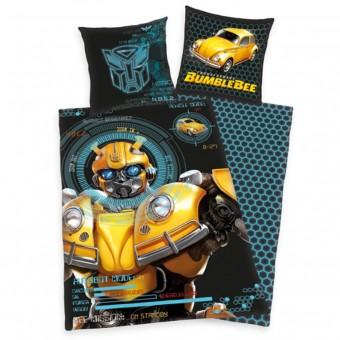 Transformer Bumblebee Sengetøj 135x200 cm - 100 procent bomuld