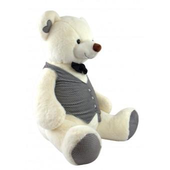 I plush Oppustelige Bamse Tuxedo Bear 60cm