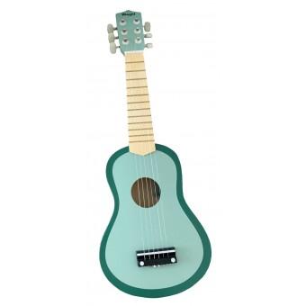 Guitar til børn m. 6 strenge - Lysegrøn