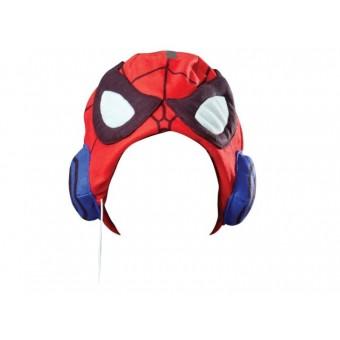 Spiderman hue med hovedtelefoner til børn