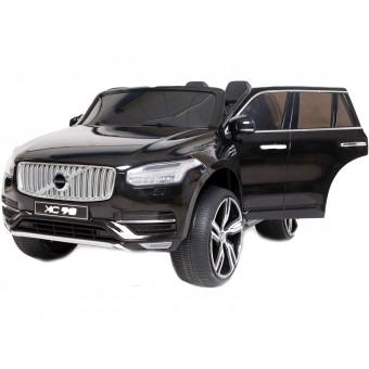 Volvo XC90 SUV til Børn 12V Sort, m/2.4G Remote, Gummihjul
