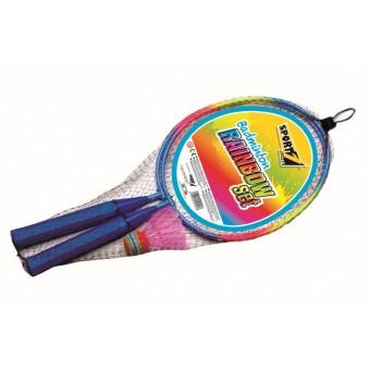 Mini Badminton sæt 'Rainbow'