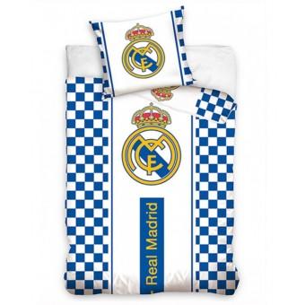 Real Madrid Sengetøj - 100 Pocent Bomuld