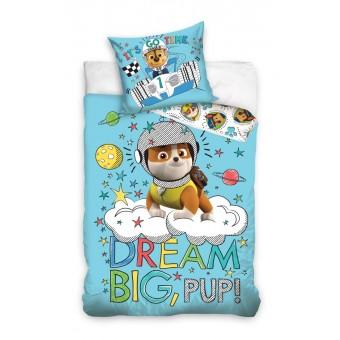 Paw Patrol 'Dream Big' Junior Sengetøj 100x135 cm - 100 procent bomuld