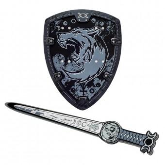 Knightwolf skum sværd + Skjold