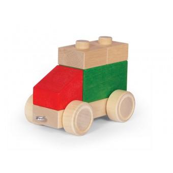 VARIS Træ Bygge og Stableklodser Køretøjer 5
