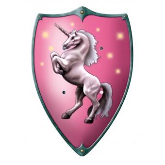 Træskjold til børn 'Unicorn' 49 x 32 cm