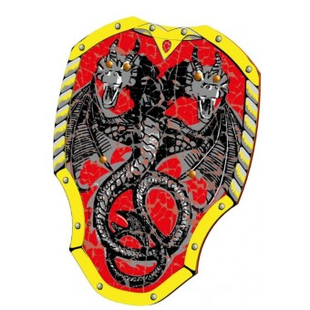 Dragon Knight skum skjold