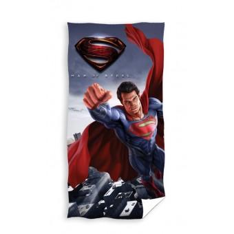 Superman 'Man of Steel' Badehåndklæde - 100 procent bomuld