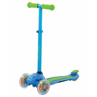 U Move Mini FLEX LED Løbehjul, Blue / Green