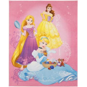 Disney Prinsesser De Luxe gulvtæppe til børn 95x125