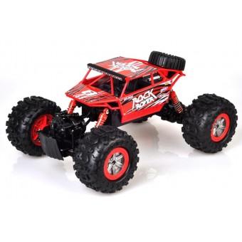 Rock Rover Fjernstyret 4WD Crawler 1:12 2.4G, Rød