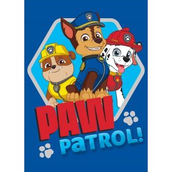 Paw Patrol gulvtæppe 02 til børn 133x95