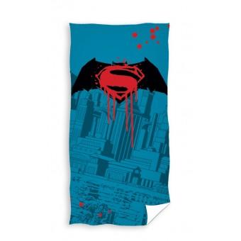 Batman Superman Badehåndklæde - 100 procent bomuld