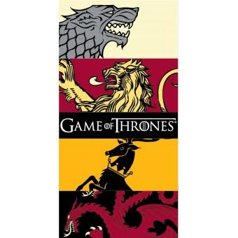 Game of Thrones Badehåndklæde - 100 procent bomuld