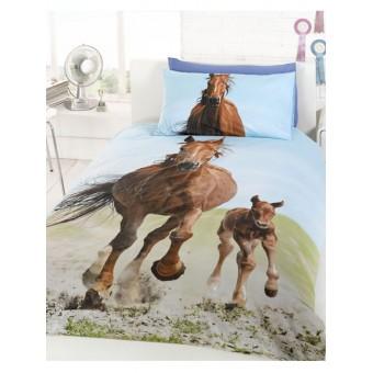 Hest og føl Sengetøj