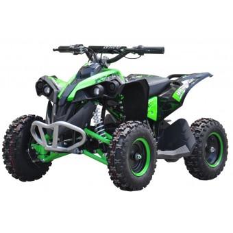 EL Mini ATV Renegade 1000W m/fart begrænser+lys Grøn