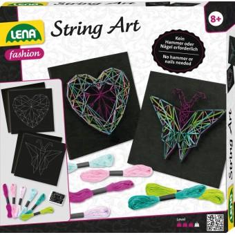Lena String Art Butterfly & Heart