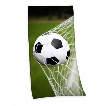 Fodbold Badehåndklæde - 100 procent bomuld